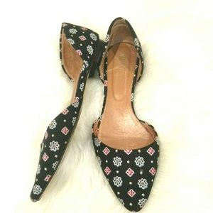 Used, J jill ◾ Women Geometric Print Flats Shoes for sale